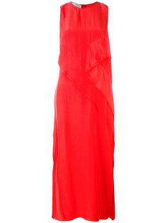 платье шифт с шлицей сбоку Cédric Charlier