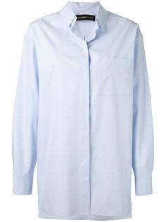 concealed fastening shirt Alexandre Vauthier