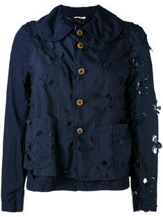 куртка с цветочными элементами Comme Des Garçons Comme Des Garçons