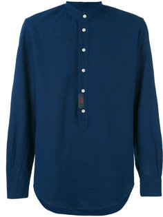 рубашка с воротником стойкой  Mp  Massimo Piombo