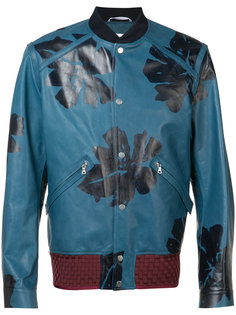 куртка-бомбер с принтом Oamc