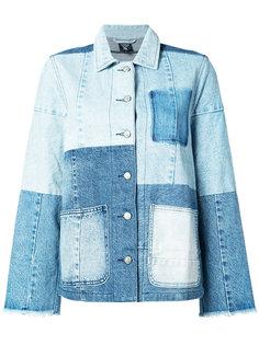 patchwork denim jacket  Prps