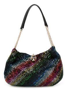 сумка на плечо с пайетками Sonia Rykiel