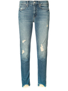 distressed jeans  Mother