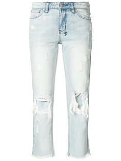 distressed cropped jeans  Ksubi