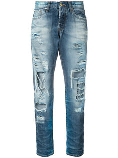 distressed straight jeans  Prps
