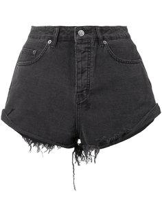 frayed denim shorts Ksubi