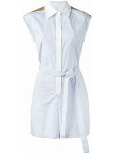 платье-рубашка без рукавов Sonia Rykiel