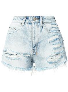 distressed denim shorts Ksubi