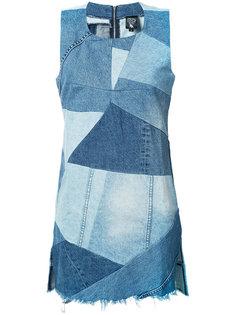 patchwork denim dress Prps