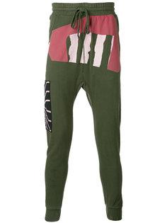 спортивные брюки с заниженным шаговым швом 11 By Boris Bidjan Saberi