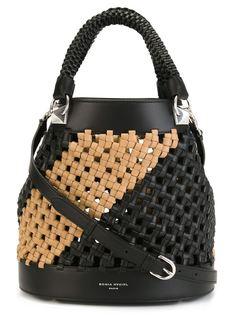 плетеная сумка-мешок Sonia Rykiel