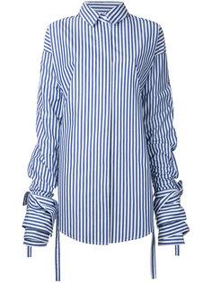 Veil Macro striped shirt Strateas Carlucci