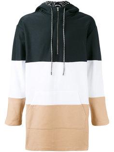 striped hooded sweatshirt Les Benjamins