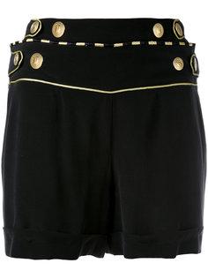 шорты с пуговичной отделкой Pierre Balmain