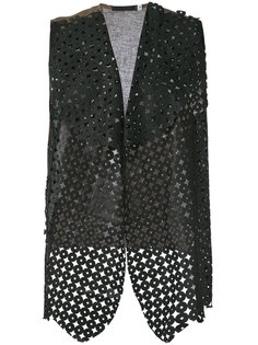 embroidered gilet Cutuli Cult
