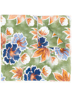 floral print scarf  Kiton