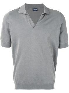 knit polo shirt Drumohr