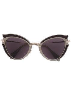 cat eye sunglasses Miu Miu Eyewear