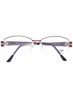 enamelled oval frame glasses Cazal