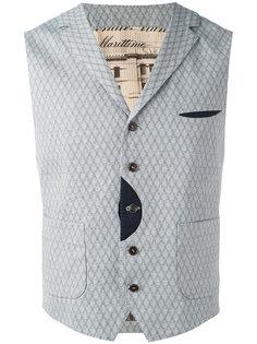 woven waistcoat Al Duca D'Aosta 1902