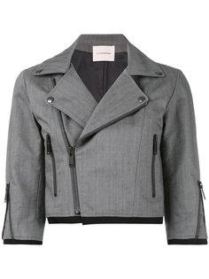 cropped biker style jacket A.F.Vandevorst