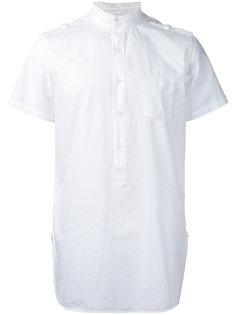 short sleeve military shirt  Wooster + Lardini