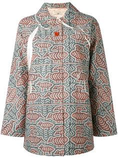 пиджак с орнаментом на пуговицах Cotélac