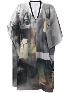 пальто с вышивкой Aviù