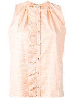 рубашка с рюшами Cotélac