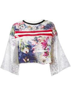 блузка с цветочным принтом Aviù