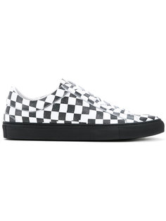 checkered trainers Facetasm