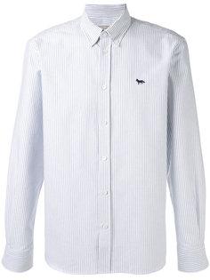 полосатая рубашка Maison Kitsuné