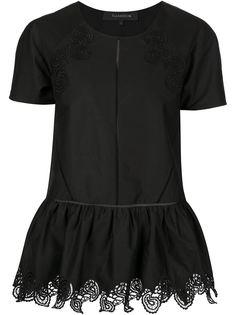 """блузка с вышитым принтом """"пейсли"""" Thakoon"""
