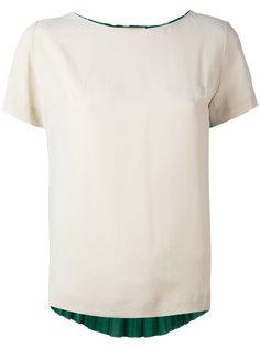 плиссированная футболка Erika Cavallini