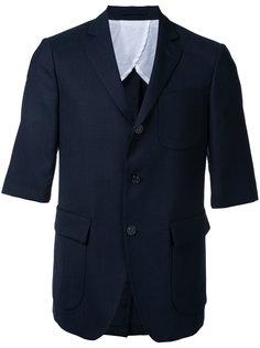 flap pocket blazer Wooster + Lardini