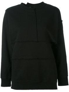 Complex split seam sweatshirt Pam Perks And Mini