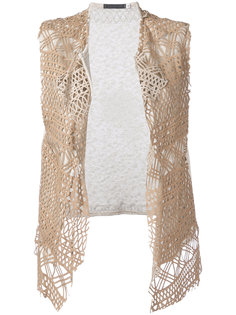 embroidered knitted top Cutuli Cult