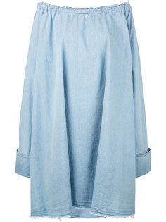 chambray oversize dress Marquesalmeida