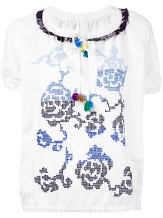floral embroidery blouse Forte Forte