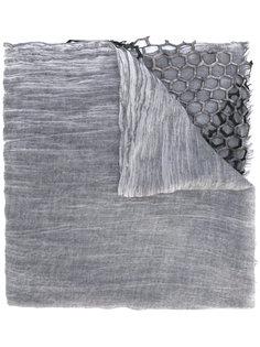 шарф с вышивкой Cutuli Cult