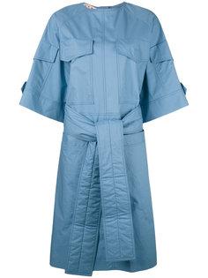 платье с завязками на поясе Marni