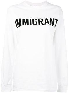 Immigrant sweatshirt Ashish