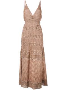 zig-zag detail dress M Missoni