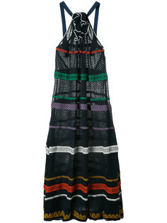 patterned halterneck dress Sonia Rykiel