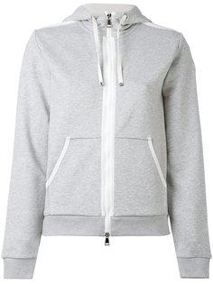 zip front hoodie Moncler
