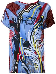 """футболка с принтом """"пейсли"""" Versace"""