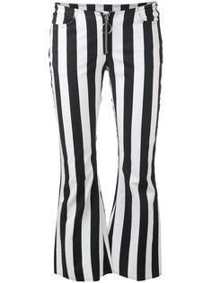 striped flared trousers Marquesalmeida