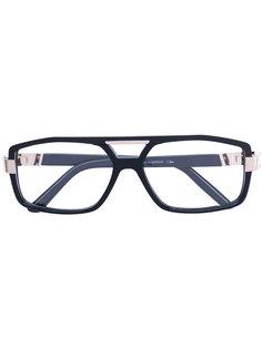 squared glasses Cazal