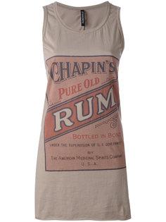 Rum Label tank top Rundholz